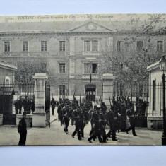 Carte Postala Militara, Germania 1915: Franta. Cazarma St. Cyr-Toulon