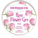 Dermacol Flower Care Rose unt pentru corp, hranitor cu aromă de trandafiri