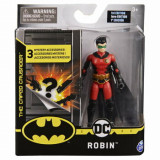 Figurina Robin cu 3 accesorii surpriza, 10 cm, Spin Master