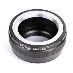 Adaptor obiective M42 la camere micro 4/3 Olympus E P1 EM5 Panasonic GF1 etc