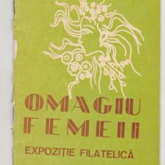 bnk fil Catalogul Expofil Omagiu femeii Bacau 1980