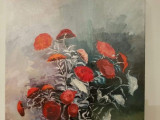 Vand lucrare pictata de mine., Flori, Ulei, Realism