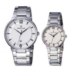 Set ceasuri pentru dama si barbati, Daniel Klein Pair, DK11976-3