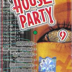 Vand Caseta -House Party 9-, originala, holograma