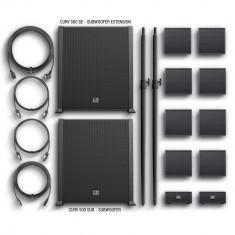 Sistem audio Vertical Array Portabil de 920W cu Mixer incorporat si BLUETOOTH - LD Systems CURV 500 PS