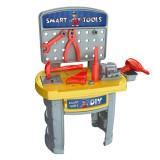 Set jucarie pentru copii, model atelier de lucru cu unelte, 35 bucati, 65×41.5×27