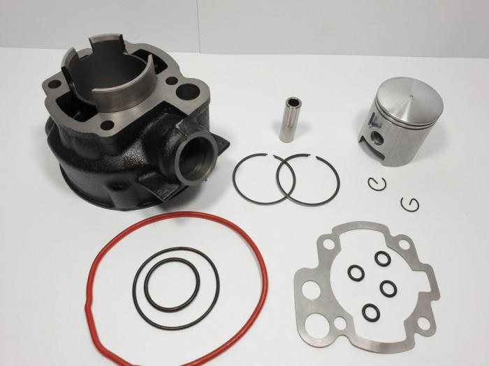 Kit Cilindru - Set Motor Scuter Yamaha Minarelli AM6 80cc - 47mm 2 Segmenti APA