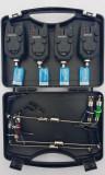 Set 4 avertizoare TLI 09 + 4 swingere cu iluminare si valigeta transport