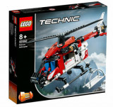 LEGO Technic 2 in 1, Elicopter de salvare 42092