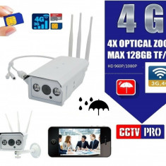 Camera IP Supraveghere Exterior WIFI - CARTELA 4G ! + CADOU SD CARD 32G - 152