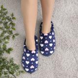 Cumpara ieftin Papuci De Casa De Dama Sani Dur Albastru Inchis 37 EU Albastru Inchis