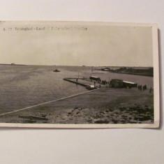 """GE - Ilustrata Techirghiol """"Lacul si debarcaderul Barcilor"""" / 1938"""