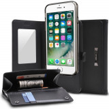 Husa Ringke Wallet Portofel 2in1 Smartphone din Piele cu Card Slot Suport Samsung Galaxy S8 Plus G955 black