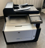 Imprimanta multifunctionala color HP LaserJet Pro CM1415fnw Copiator Wireless