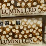 Instalatie pom cu 120 led-uri alb cald cu joc de lumini