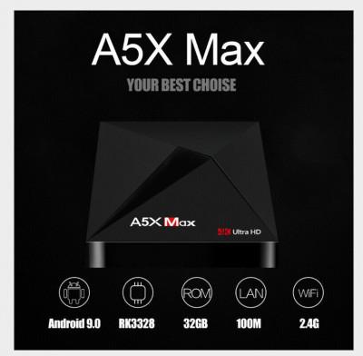 Mini PC SMART TV BOX, A5X Max Android 9.0, 4/32GB ROM, Bluetooth, Netflix foto