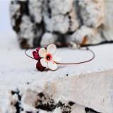 Bratara floare de cires
