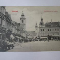 Cluj Napoca,carte postala circulata 1922, Printata