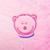 Husa blanita Fiki Miki pentru perna alaptare, 72 cm, roz