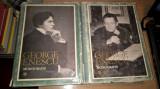 George Enescu - Monografie (2 volume) - Mircea Voicana (Editura Academiei, 1971)