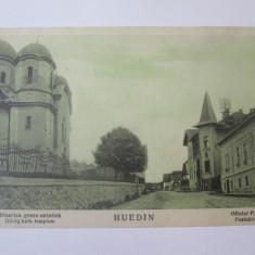 Carte postala Huedin/Cluj 1929