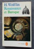 H. Wolfflin - Renaissance et Baroque