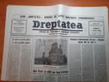 """dreptatea 7 aprilie 1990-art""""bilantul tandemului iliescu-roman dupa 100 de zile"""""""