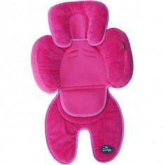 Saltea suplimentara bebelusi BO Jungle 3 in 1 pentru carucior, scaun auto, scoica roz