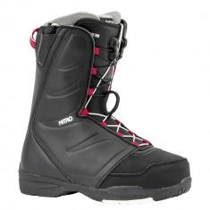 Boots Snowboard Nitro Flora TLS Black 2020