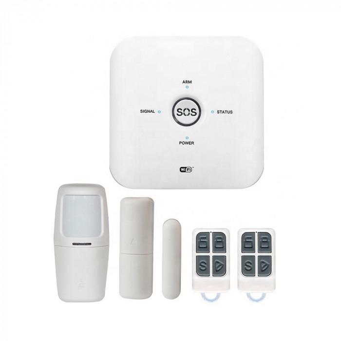 Aproape nou: Sistem de alarma wireless PNI SafeHome PT500 Wifi GSM 4G cu monitoriza