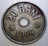 7.830 ROMANIA 20 BANI 1906, Cupru-Nichel