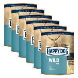Happy Dog Pur - Wild/game, 6 x 800g, 5+1 GRATUIT