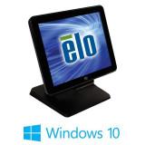 Sistem POS Touchscreen Refurbished ELO Touch 17B3, Core i3-3220, Win 10 Home