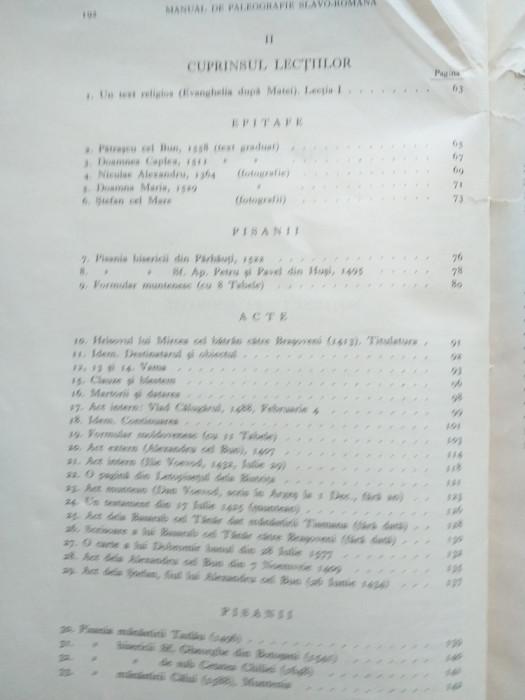 MANUAL DE PALEOGRAFIE SLAVO ROMANA-HENRI STAHL ,1936