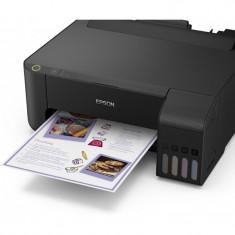 Imprimanta inkjet color ciss epson l1110 dimensiune a4 viteza max 33ppm alb-negru 15ppm color rezolutie