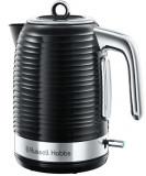 Fierbator apa Russell Hobbs Inspire Black 24361-70, 2400 W, 1.7 l, Fierbere rapida (Negru/Inox)