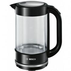 Fierbator apa Bosch TWK70B03, 2400 W, 1.7 l, cana sticla, filtru anticalcar, deconectare automata, inox