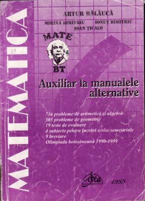 Matematica_auxiliar la algebra-geometrie pentru clasa a  6-a_colectiv * 69 foto
