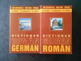 EMILIA SAVIN, IOAN LAZARESCU - DICTIONAR ROMAN-GERMAN / GERMAN-ROMAN (2015)
