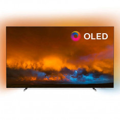 Televizor Philips OLED Smart TV 65OLED804/12 165cm Ultra HD 4K Silver
