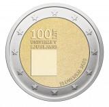 NOU - Slovenia moneda comemorativa 2 euro 2019 - Universitatea Ljubljana - UNC, Europa