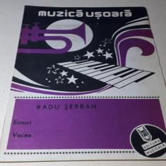 Partituri muzica usoara de Radu Șerban