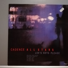 Cadence All Stars – Lee'S Keys Please (1987/Timeless/RFG) - Vinil/Jazz/Impecabil