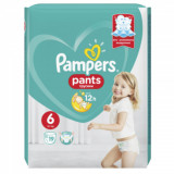 Scutece chilotel Pampers Pants Carry Pack Nr 6, 15+ kg, 19 buc.