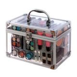Valiza completa pentru Machiaj TECHNIC Essential Large Clear Carry Case With Cosmetics
