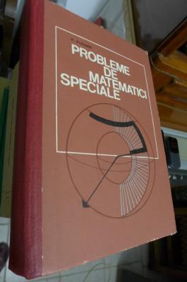 Probleme de matematici speciale - V. Rudner foto