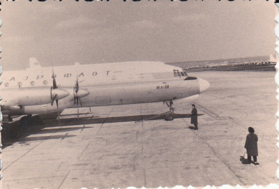 Fotografie 1950 Avion Aeroflot rusia IL-18 foto