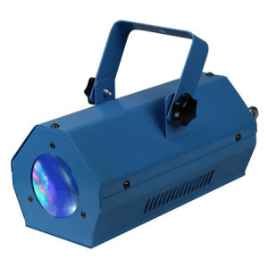 Mini led color moon cu efect rgbwa albastru
