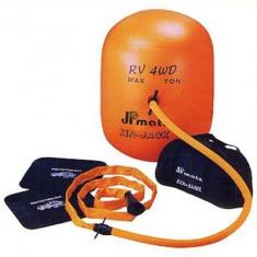 Cric balon pneumatic pentru masini offroad, 4 tone, umflare gaze esapament