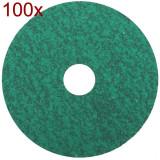 Klingspor - CS 570 - Fibrodisc, 125x22 mm, granulatie 100